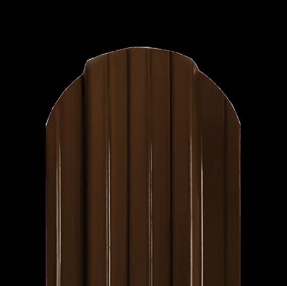 Штакетник П RAL8017 двухсторонний