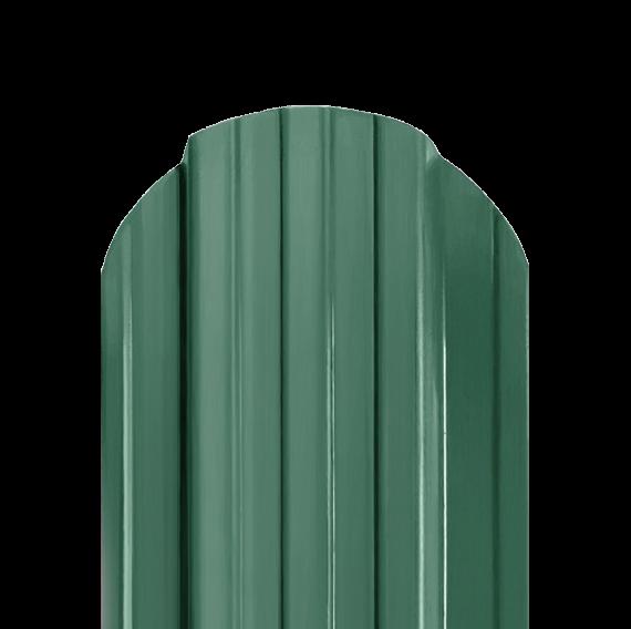 Штакетник П RAL6005 двухсторонний